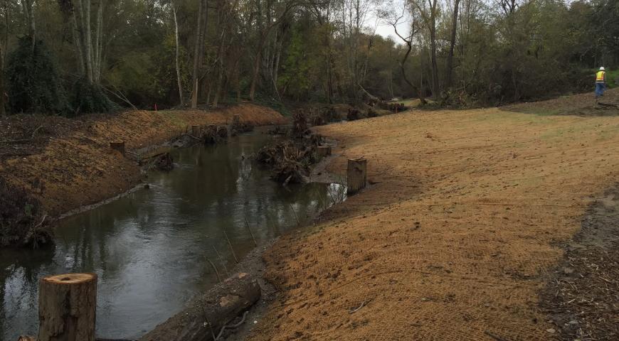 Sonoma County Water Agency Dry Creek Habitat Enhancement Project